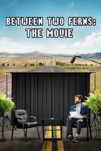 Between Two Ferns: The Movie dvd release poster