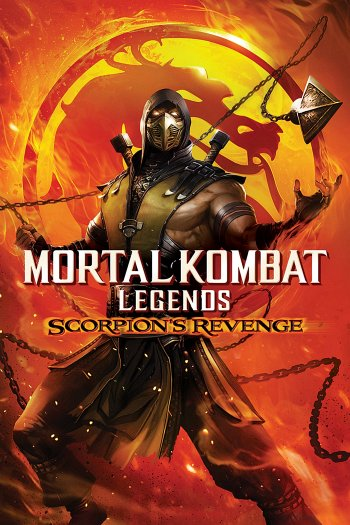 Mortal Kombat Legends: Scorpion's Revenge dvd release poster