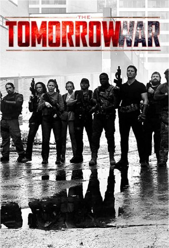 The Tomorrow War dvd release poster