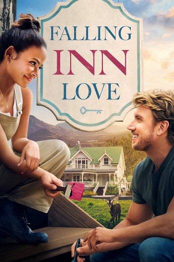 Falling Inn Love dvd release poster